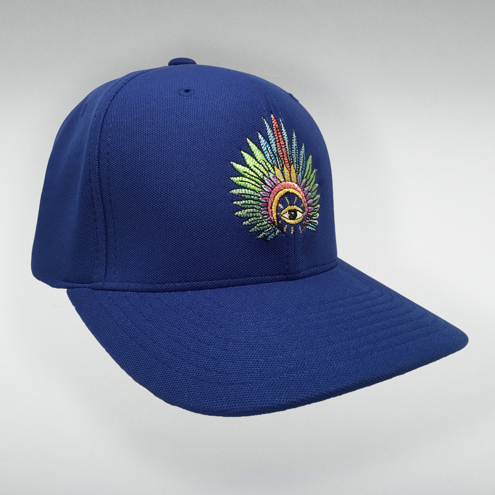 IC Stitched Logo Hat (Blue)