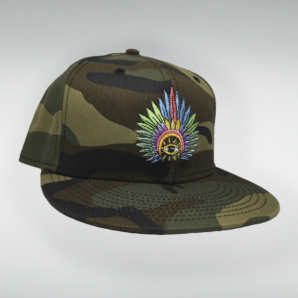 IC Stitched Logo Hat (Camo)